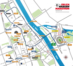 Trasa biegu na10 km