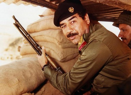 Saddam Hussein during Iran–Iraq War